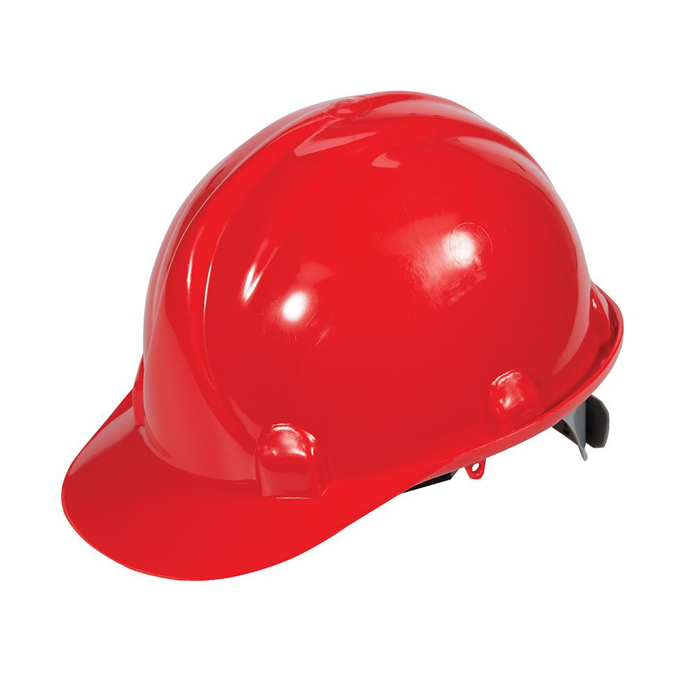 Casco de seguridad Silverline 868668 Rojo