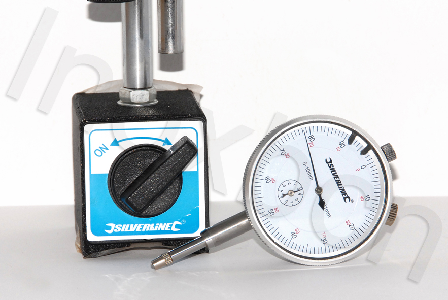 Orologio comparatore con base magnetico ebay - Comparatore a finestra ...
