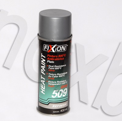 Spray Pintura Anticalorica 800º C Color Plata