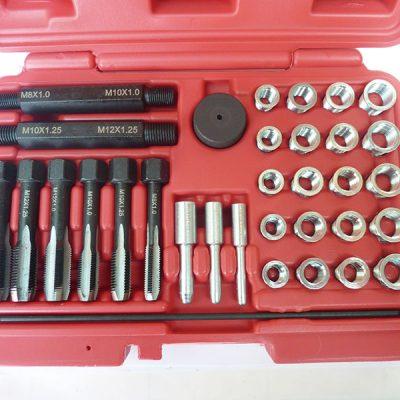 Juego de reparar roscas de calentadores con helicoils - 33 Pzs
