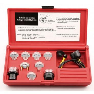 juego para comprobar sistema electrico de inyeccion gasolina 11 pzas