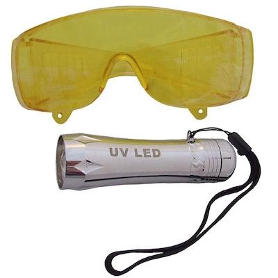 Kit de fugas de aire acondicionado por ultravioleta