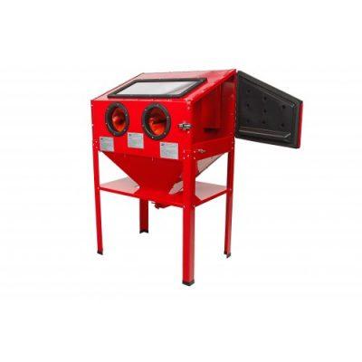 cabina chorreadora de arena de soporte