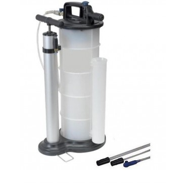 extractor de aceite y fluidos manual y neumatico
