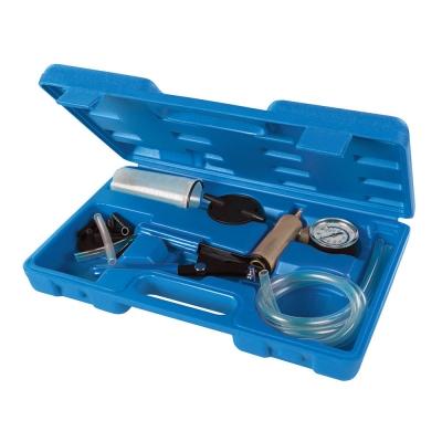 juego vacuometro,sangrador de frenos,comprobador de presion y vacio