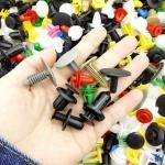 500 Grapas plastico para carroceria coches universal