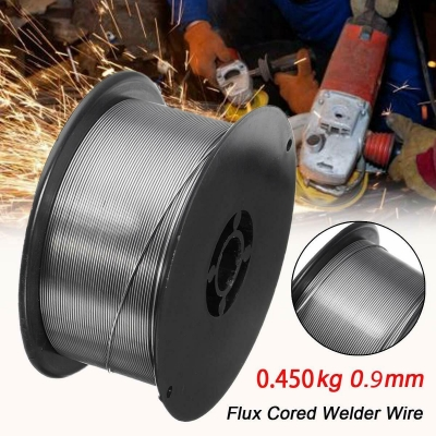 hilo de soldar sin gas/con gas flux para soldadores tipo mig/mma 0,9mm - 0,45kg