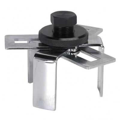 Descripción Llave universal 3 de piernas para eliminar el remitente del depósito de combustible, totalmente ajustable. Se utiliza con una llave de 24 mm. Capacidad: 75-160 mm.