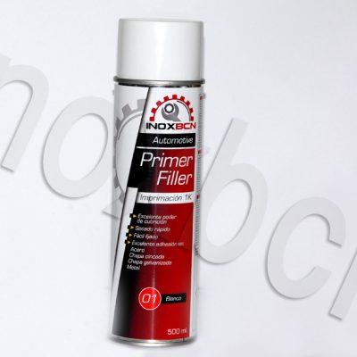 Spray pintura imprimacion acrilica para carroceria color blanco 500 ml