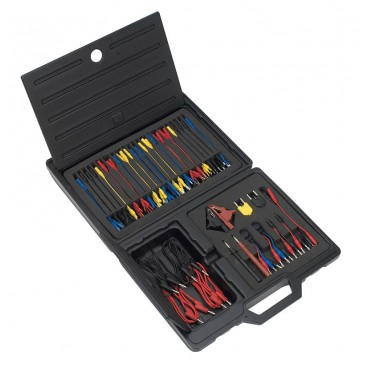 juego de cables y accesorios para comprobar circuitos electricos 90 piezas