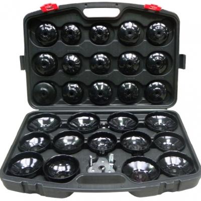 juego de 30 llaves vasos cazoletas para filtros de aceite