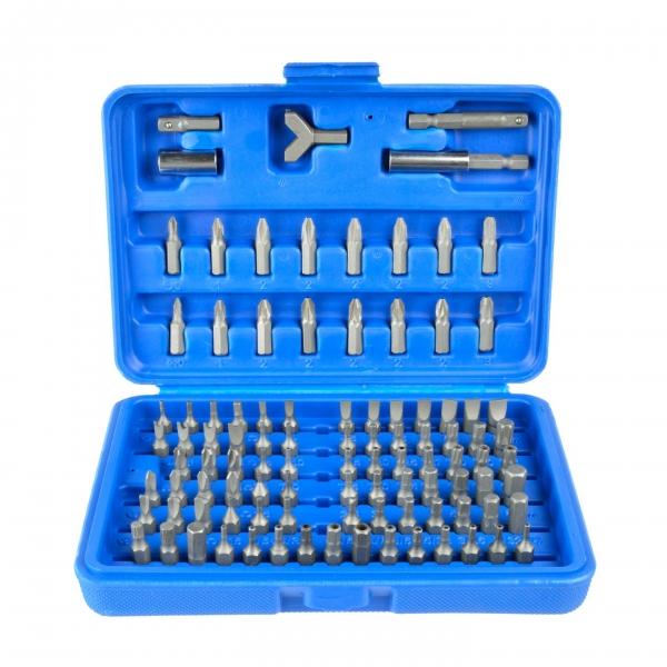 juego 100 puntas de destornillador para taladros atornilladores:allen,torx,xzn,